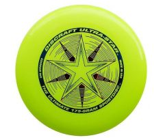 DISCRAFT Ultra-Star Yellow (ultimate frisbee)