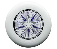 DISCRAFT Ultra-Star White (ultimate frisbee)