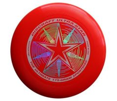 DISCRAFT Ultra-Star Red (ultimate frisbee)