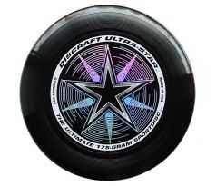 DISCRAFT Ultra-Star Black (ultimate frisbee)